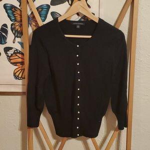 Silk Pearl button cardigan